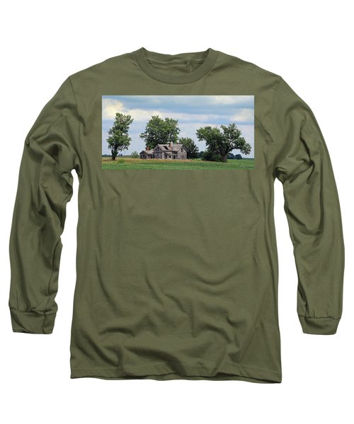 Sometimes You Can't Go Home Long Sleeve T-Shirt by Christopher McKenzie
