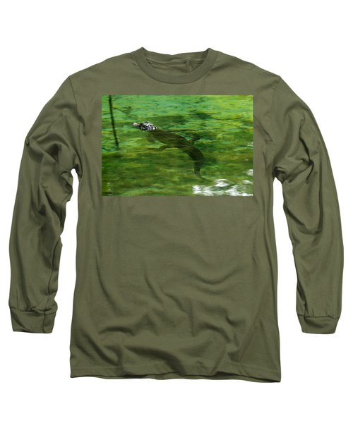 Young Alligator Long Sleeve T-Shirt
