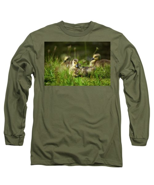 Long Sleeve T-Shirt featuring the photograph Young And Adorable by Karol Livote