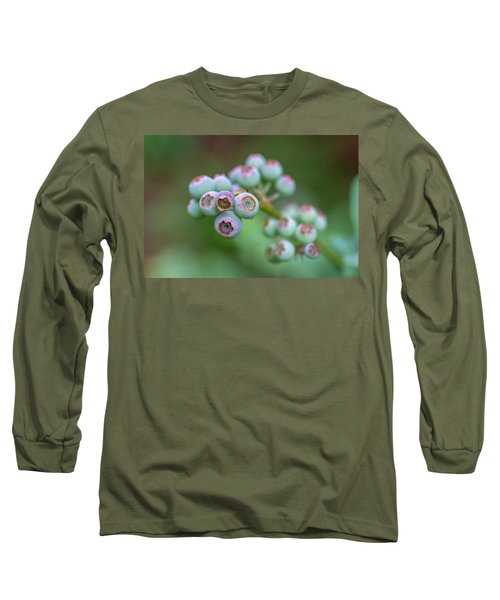 Young Blueberries Long Sleeve T-Shirt