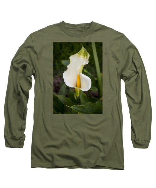 Young Calla Lily Long Sleeve T-Shirt