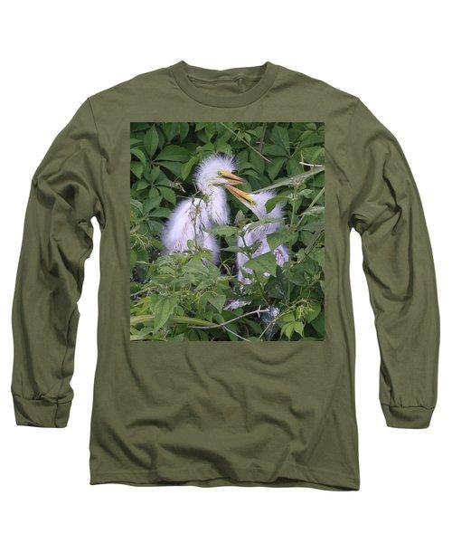 Young Egrets Long Sleeve T-Shirt