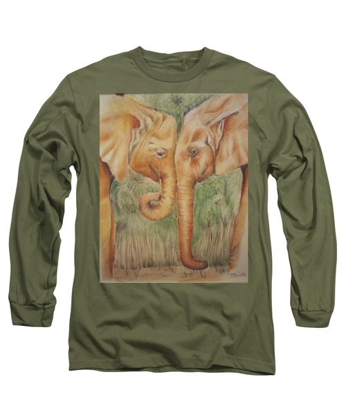 Young Elephants Long Sleeve T-Shirt