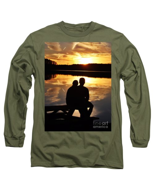 Young Love And Sunsets Long Sleeve T-Shirt