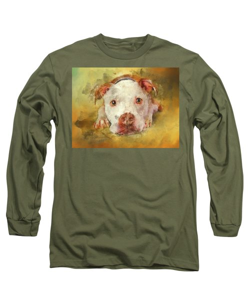 Long Sleeve T-Shirt featuring the photograph You're My Favorite Human by Bellesouth Studio