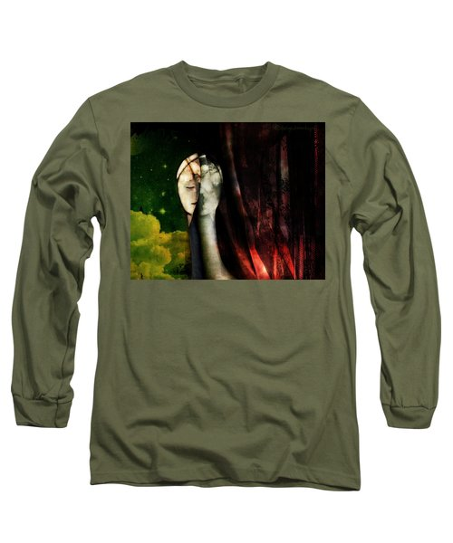 Long Sleeve T-Shirt featuring the digital art You...with The Clouds In Your Eyes by Delight Worthyn