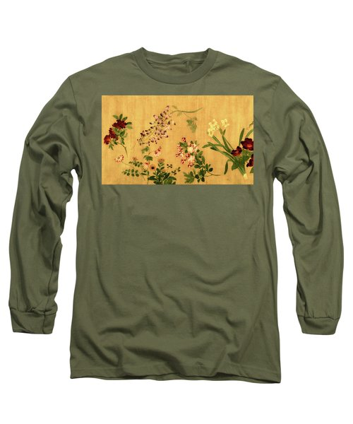 Yuan's Hundred Flowers Long Sleeve T-Shirt