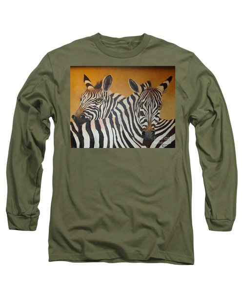 Zebra Love Long Sleeve T-Shirt