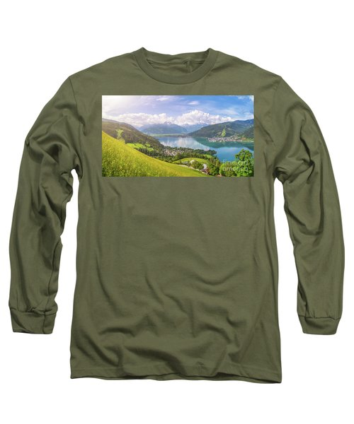 Zell Am See - Alpine Beauty Long Sleeve T-Shirt by JR Photography