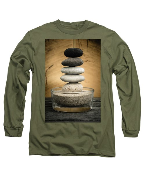 Zen Stones I Long Sleeve T-Shirt