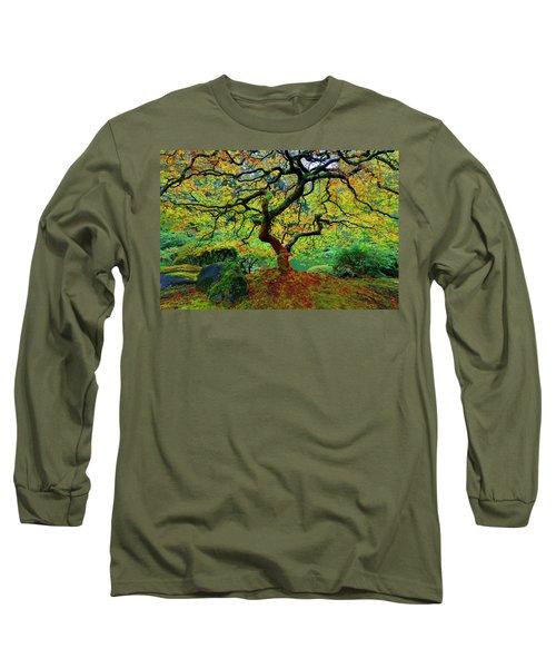 Zentastick Long Sleeve T-Shirt by Jonathan Davison