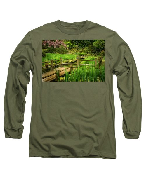 Zig Zag Bridge Long Sleeve T-Shirt