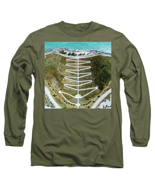 Long Sleeve T-Shirt featuring the photograph Zig Zag by Randy Scherkenbach