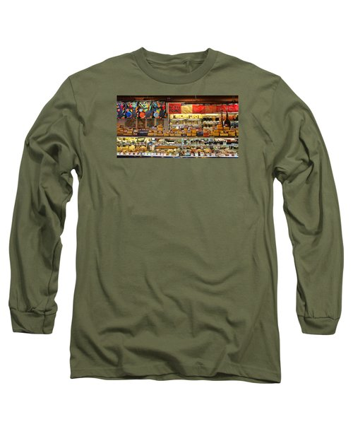 Zingermans Deli Ann Arbor  5046 Long Sleeve T-Shirt by Jack Schultz