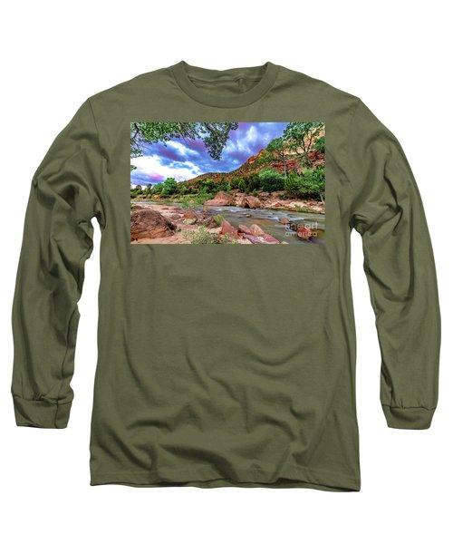 Zion At Daybreak Long Sleeve T-Shirt
