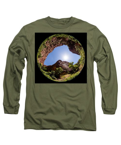 Zion Fisheye 1464 Long Sleeve T-Shirt by Michael Fryd