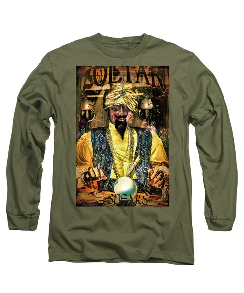 Long Sleeve T-Shirt featuring the photograph Zoltar by Chris Lord