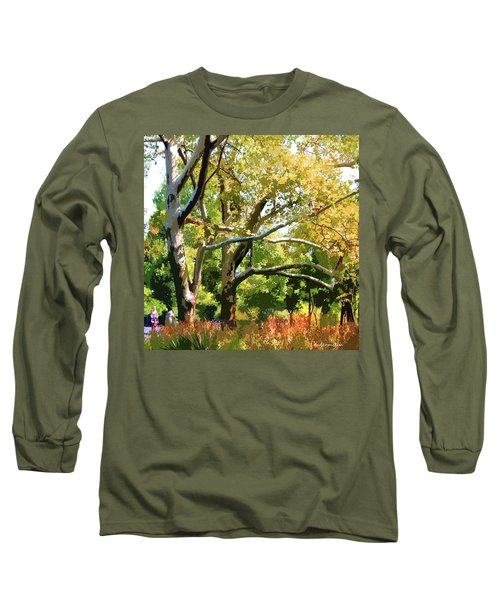 Zoo Trees Long Sleeve T-Shirt