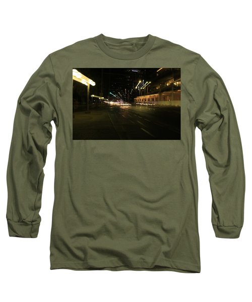 Zooming Tel Aviv Road. Long Sleeve T-Shirt