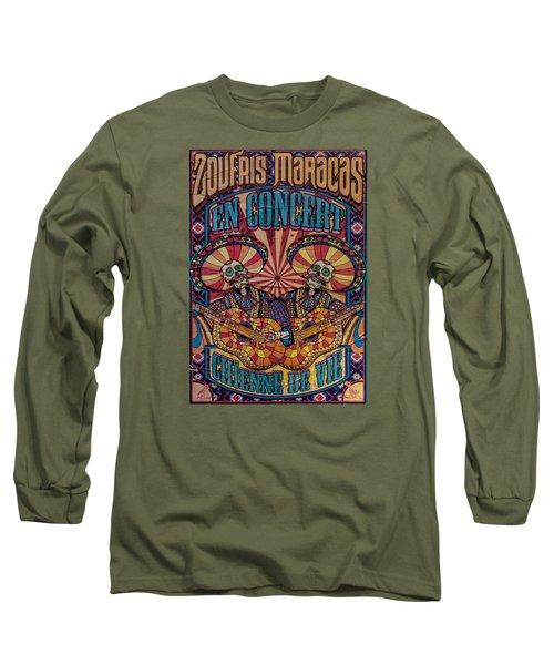 Zoufris Maracas Poster Long Sleeve T-Shirt