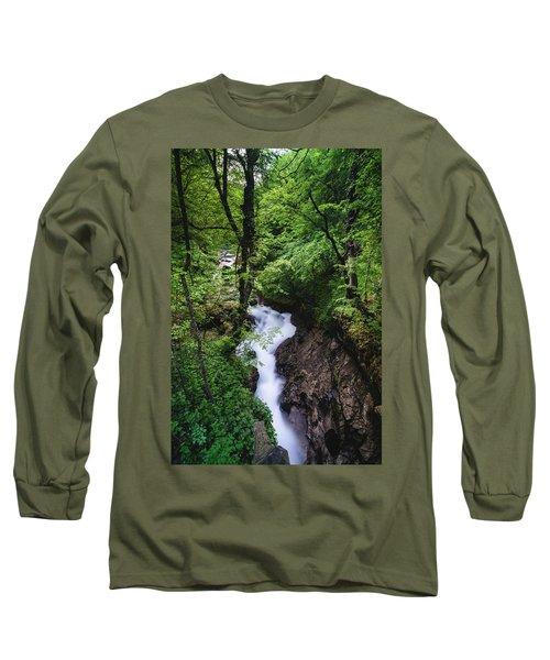 Bela River, Balkan Mountain Long Sleeve T-Shirt