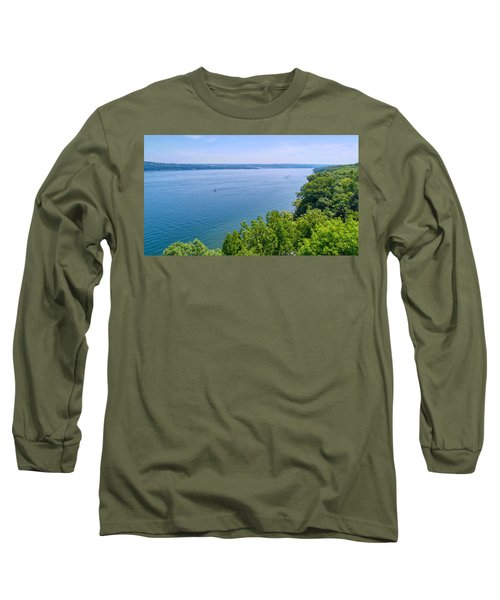 Cayuga Lake Long Sleeve T-Shirt