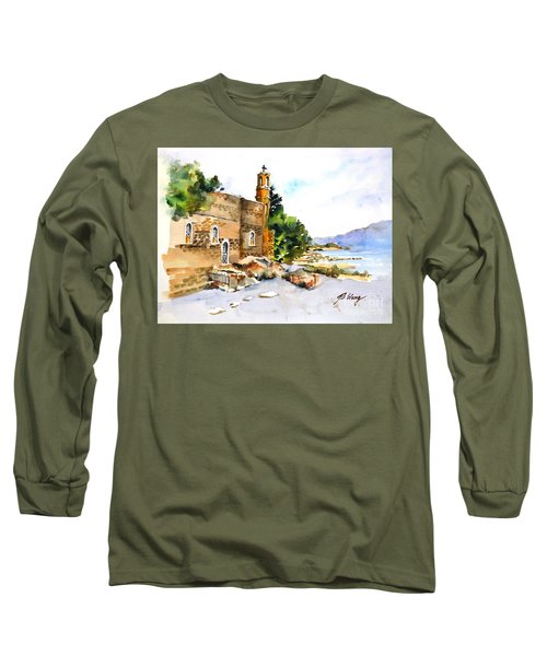 Church Of Primacy, Galilee Long Sleeve T-Shirt
