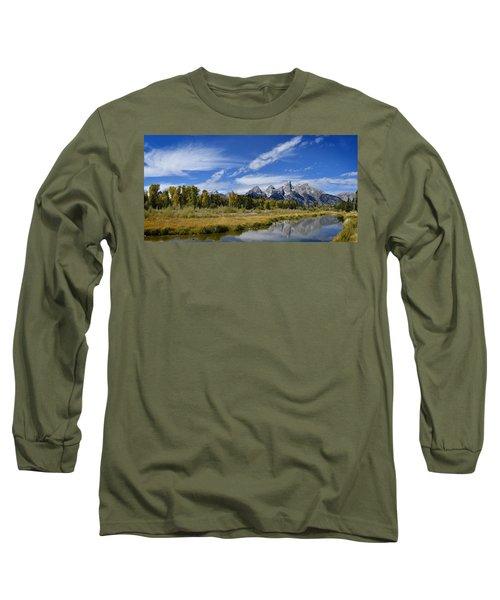 Grand Tetons Long Sleeve T-Shirt
