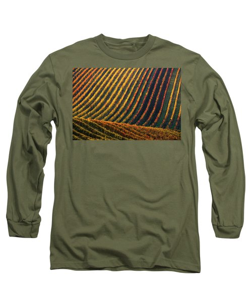 Line And Vine Long Sleeve T-Shirt