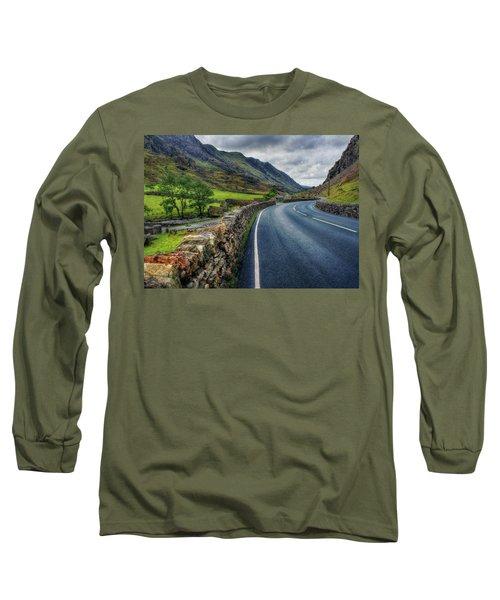 Llanberis Pass  Long Sleeve T-Shirt