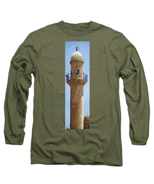 Minaret Of Ulu Cami Mosque Long Sleeve T-Shirt