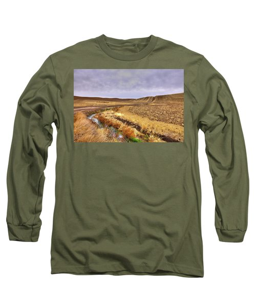 Long Sleeve T-Shirt featuring the photograph Plowed Under by David Patterson