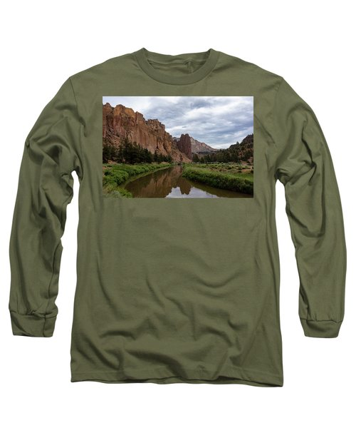Smith Rock Reflections Long Sleeve T-Shirt