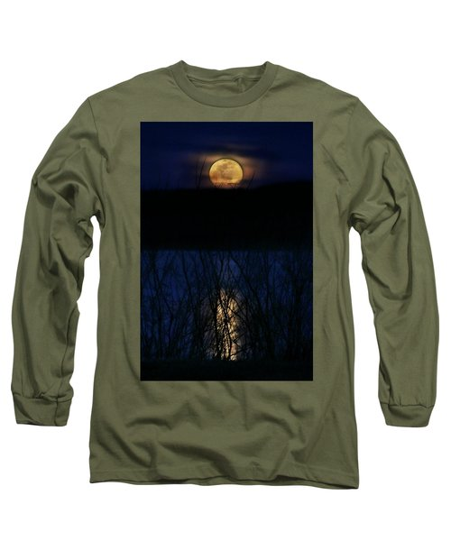 Snow Moon Long Sleeve T-Shirt