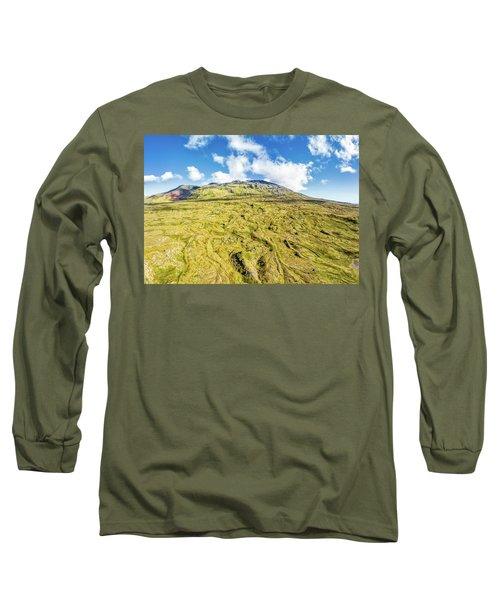 Snowcapped Volcano II Long Sleeve T-Shirt