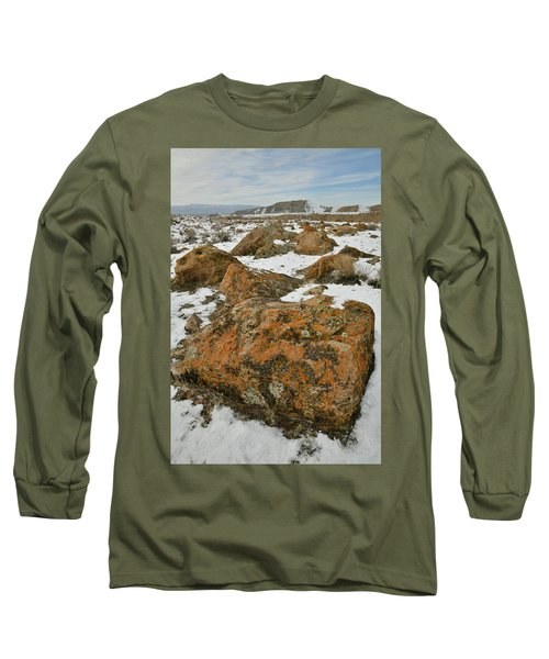 The Many Colors Of The Book Cliffs Long Sleeve T-Shirt