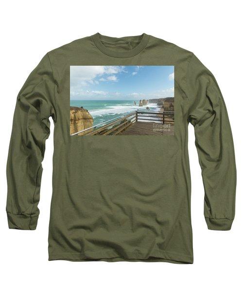 Twelve Apostles Sea Rocks Long Sleeve T-Shirt