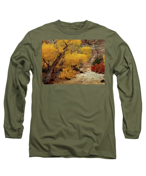 Zion National Park Autumn Long Sleeve T-Shirt