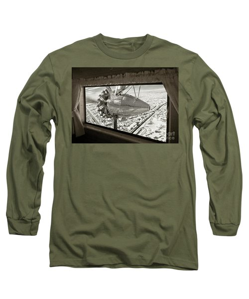 1928 Ford Tri-motor Long Sleeve T-Shirt