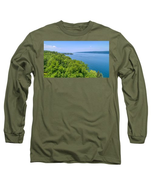Cayuga Lake  Long Sleeve T-Shirt