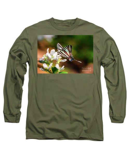 Zebra Swallowtail Long Sleeve T-Shirt