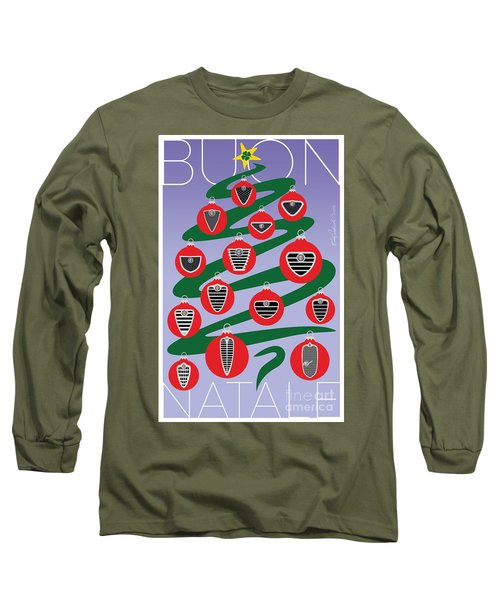 2018 Alfa Club Christmas Card Long Sleeve T-Shirt