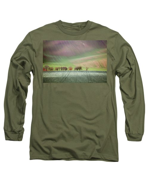 Autumn In South Moravia 3 Long Sleeve T-Shirt