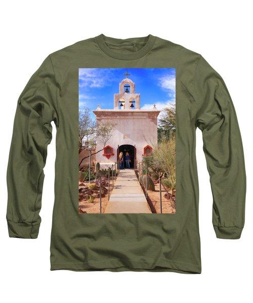 San Xavier Del Bac Az Long Sleeve T-Shirt