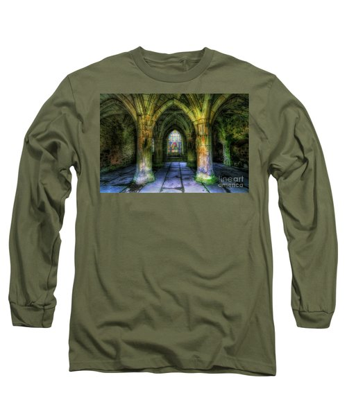 Valle Crucis Abbey Long Sleeve T-Shirt