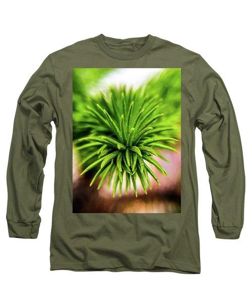 Green Spines Long Sleeve T-Shirt