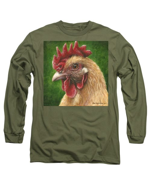 A Chicken For Terry Long Sleeve T-Shirt