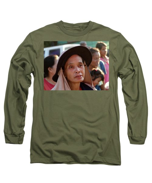 A Face Of Life Long Sleeve T-Shirt
