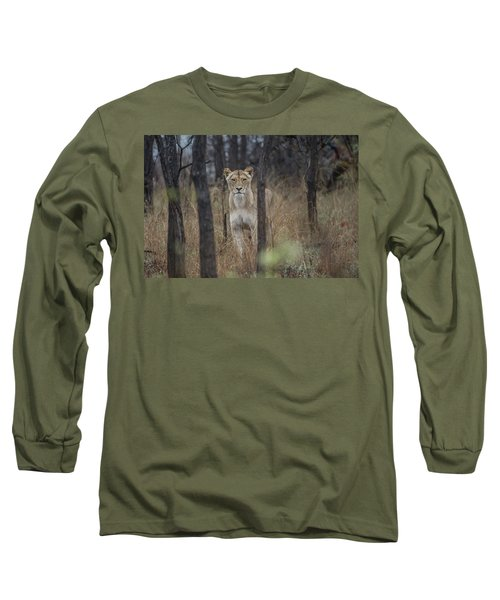 A Lioness In The Trees Long Sleeve T-Shirt