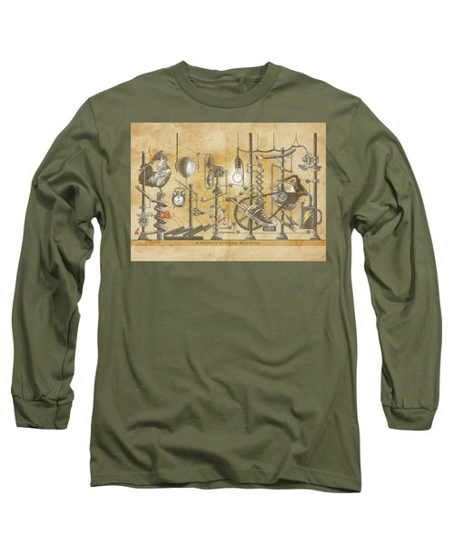 A Simple Coffee Machine Long Sleeve T-Shirt